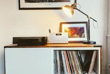 Record player stands