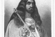 Chilpéric II (671 +721) R. Neustrie (715-719) R. des Francs (719-721) / ROI DES FRANCS (719-721) Préd: Clotaire IV (réunion de tous les royaumes Francs), Succ: Thierry IV. - ROI DES FRANCS DE NEUSTRIE ET DES BURGONDES (715-719) Préd: Dagobert III, Succ: lui-même (réunion de tous les royaumes Francs). - Mérovingien né vers 671, mort en 721.