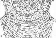 Virkning Diagram/Crochet Charts