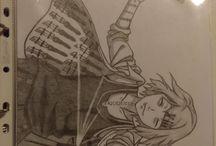my drawings ^^
