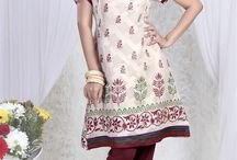 Cotton Kurtis / Choose from a wide range of printed cotton knee length ladies kurtis apt. for daily wear. Shop your favorite one now from http://www.mishreesaree.com/Online/kurtis
