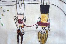 LOVE [ STITCH ] / stitch, sewing machine, thread