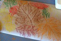 Kids crafts- autumn