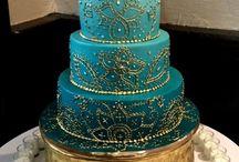 Indian wedding cakes inspiration