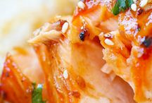 Salmon & seafood recipes