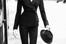 Le Smoking / The Feminine Tuxedo