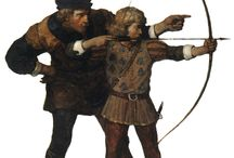 Archery 2: fantasy, paintings, drawings / by jacques Doaré
