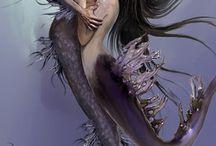 mermaids / by Amy Hartman Smith