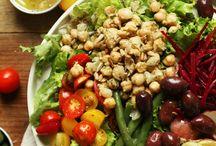 Hearty, creative, and delicious vegan salads / Vegan salad ideas! *No animals harmed