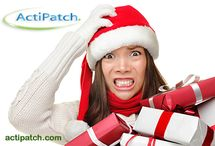 Holiday Back Pain Relief / Sometimes the holiday season can be more stressful than joyous. If you do experience pain or discomfort as a result of holiday stress, consider an ActiPatch®!  www.actipatch.com