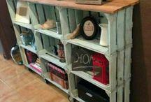 repurposed crate furniture
