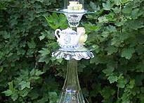 Outdoors- Garden art- Glass whimsies / by Mary Heisler