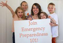 Emergency preparedness -72 hour kits-food storage