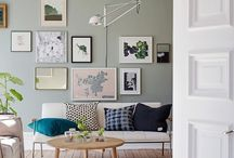 Studio goals / Artist studios, designer workspaces, artwork in frames