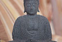 Buddha and yin+yang