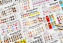 """Eccentric Designs Nail Decals or Stickers / Are you tired of spending loads of money at the Nail Salon for a simple manicure and/or pedicure? If so, I have the perfect solution for you - Eccentric Nail Decals! These adorable decals are a cost efficient way to add a little flair to your finger tips while giving you the """"Salon"""" effect at a fraction of the cost.   Nails   Nail Art   Nail Wraps   Birthday   Party   Finger   Polish   Stickers   Decals   Manicure   Pedicure   Salon   Spa   Children   Art  Buy Nail Decals: http://goo.gl/vjBnxF"""