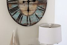Wall Decor With Clock