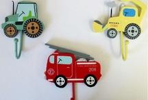Transport bedroom theme
