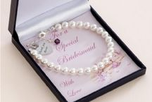 Bridesmaids Jewellery / Necklaces, Bracelets and Wedding Thank You Gifts for Bridesmaids and Flower Girls www.jewels4girls.net