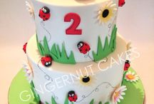 tortas infantiles nena