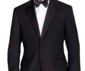 Men's Black Slim Fit Calvin Klein Tuxedo