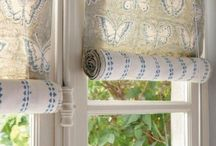 Окна: шторы, жалюзи