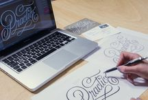 Hand lettering / Beautiful examples and resources for hand-lettering / by HowJoyfulShop