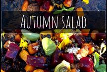 Autumn Recipes / Recipes made with seasonal produce with autumnal spices... all the flavours of autumn and much more