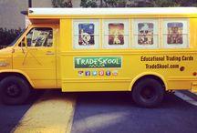TradeSkool is Everywhere! / TradeSkool Educational Trading Cards