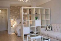 kanapa i sypialnia