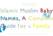 Muslim Baby Names in Islam / Islamic Baby Names, Bacho Ke Naam