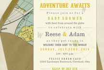Welcome To The Adventure Baby Shower Inspiration / by Michele Daharsh