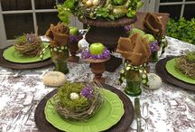 Table Scapes / Cute tables for luncheons, brunches or teas