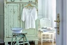 Blu & Verdi Autentico Paint / Mobili dipinti nei colori Autentico cartella Blues & Greens