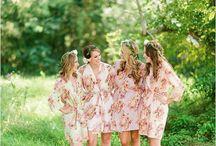 Happy Brides in RobesbySilkandmore