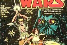 Star wars comic covers.