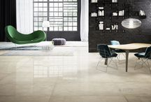 Marble effect porcelain tiles / Personality and elegance flow in the natural veins of the marble look collection by Ceramiche Refin