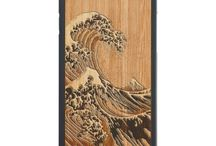 - CARVED CASES - / Smooth, solid wood cases are what Carved is all about! These are just a few of the wonderful designs you can find for their cases. Check out the rest of their selection in their Zazzle store here: http://zazl.it/6fFZt