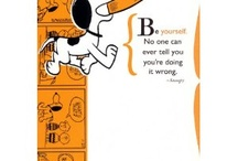 Snoopy Quotes! :-) / by Alesandra Forte