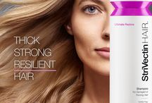 StriVectin HAIR - Ultimate Restore / Ultimate Restore formulas deeply nourish, thicken and revitalize for root to tip transformation of damaged or thinning hair.