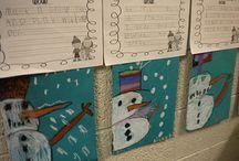 Classroom - Snowy