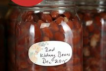 Canning beans / How to home can beans, both from fresh and from dried.