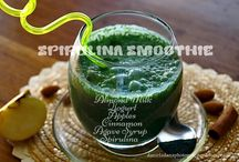 Drinks/Desserts / Healthy drinks and desserts for cleaning your body and mind inspired by Asiatic recipes