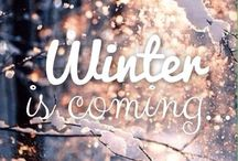 Winter & coming !!!
