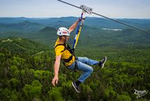 Ziptrek Tremblant / Showcasing images from our latest location - Tremblant, Quebec! / by Ziptrek Ecotours