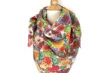 Silk scarves - Janice Nelson Designs / Luxurious made in America silk scarves. Original Janice Nelson textiles. #silkscarf #madeinamerica #sustainabledesign