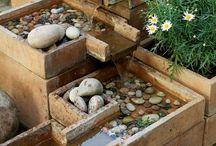 vodní prvky v zahradě