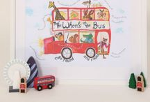 Nursery prints / Bespoke prints for the little person in your life