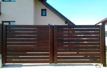 Gard și poarta