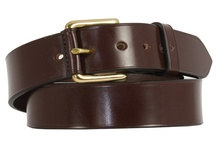 Our Leather Products / Fine quality Luxury English Bridle Leather belts, Wallets and leather goods all hand made to to order in our traditional leather workshops near Worcester UK